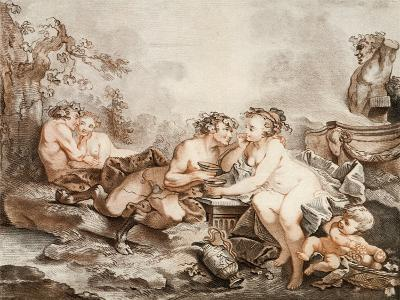 Fauns and Nymphs--Giclee Print