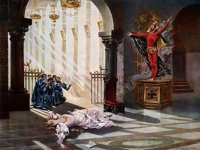 Faust, Act IV Scene V-William De Leftwich Dodge-Giclee Print