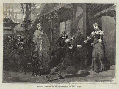 Faust at the Lyceum Theatre-Thomas Walter Wilson-Giclee Print
