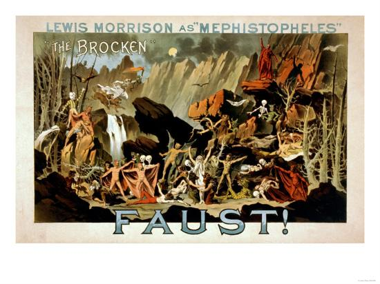 Faust Musical Theatre Poster-Lantern Press-Art Print