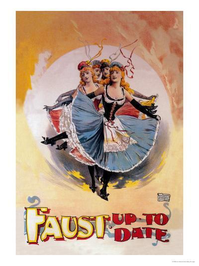 Faust Up to Date-John Stewart Browne-Art Print