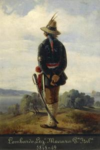 First War of Independence, Lombard Soldier in the Manara Legion, 1848-1849 by Faustino Joli