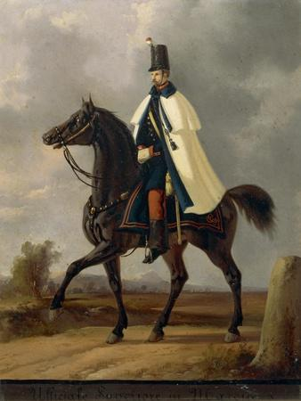 Lieutenant Colonel Officer Marching, 1814-1876