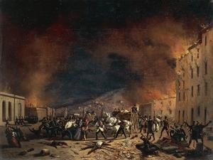 Ten Days of Brescia at Torrelunga Gate by Faustino Joli