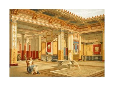 Reproduction of the House of Marcus Lucretius Fronto