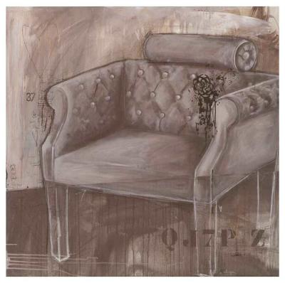 Fauteil Belle Epoque-Alexandra Breda-Art Print