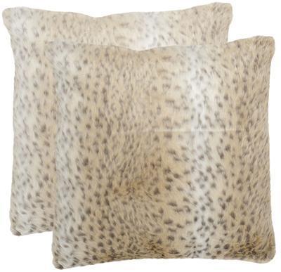 Faux Leopard Pillow Pair