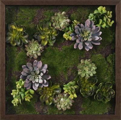 Faux Succulent Lavender Mini Garden Iii Dimensional Product By Art Com