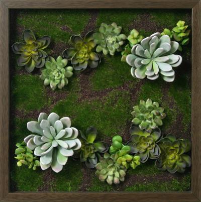 Faux Succulent Mini Garden III