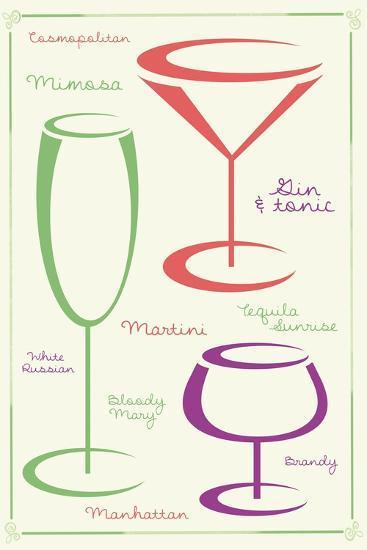 Favorite Drink 2 C-Lauren Gibbons-Art Print