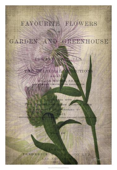 Favorite Flowers II-John Butler-Giclee Print