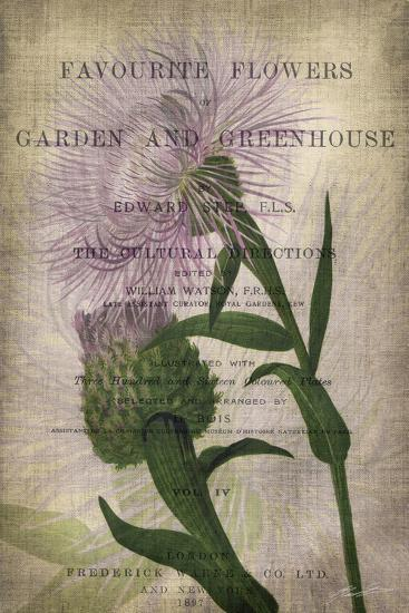 Favorite Flowers II-John Butler-Art Print