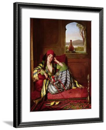 Favourite of the Harem-John Frederick Lewis-Framed Giclee Print