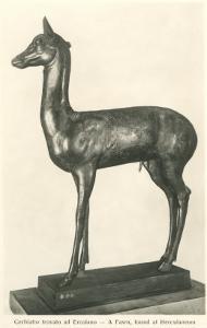 Fawn Sculpture from Herculaneum