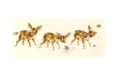 Fawns-Peggy Harris-Giclee Print