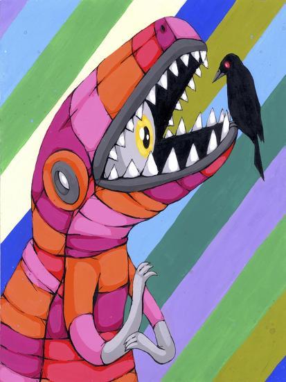 Fear Inside A Tough Exterior-Ric Stultz-Giclee Print