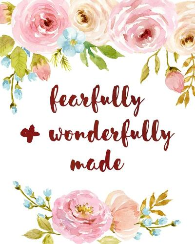 Fearfully & Wonderfully Made-Color Me Happy-Art Print