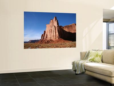 Mesa Rock Formations in Monument Valley