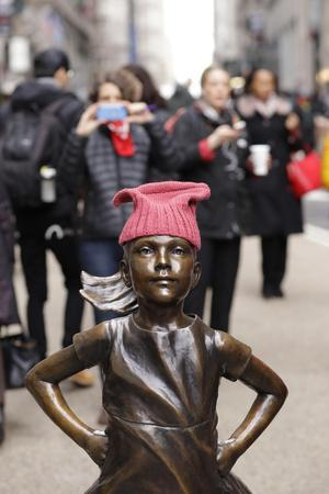 Fearless Girl Wall Street--Photographic Print