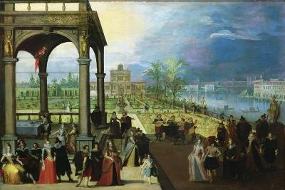 Feast in a Palace-Louis de Caullery-Giclee Print