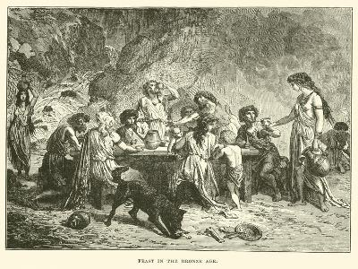 Feast in the Bronze Age--Giclee Print