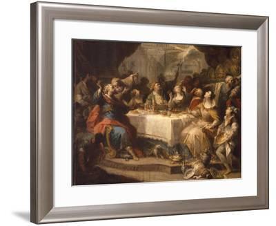 Feast of Balthasar-Nicola Gallucci Da Guardiagrele-Framed Giclee Print