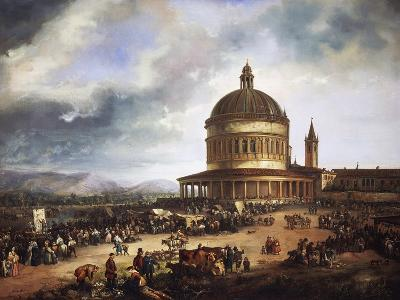 Feast of St Michael, 1840-Carlo Ferrari-Giclee Print