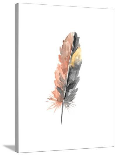 Feather 1-Jetty Printables-Stretched Canvas Print
