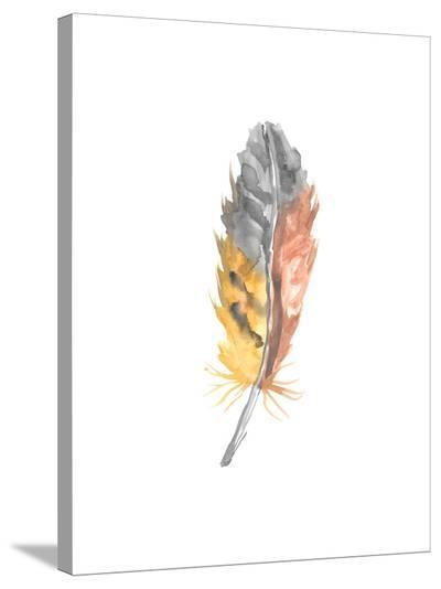 Feather 2-Jetty Printables-Stretched Canvas Print