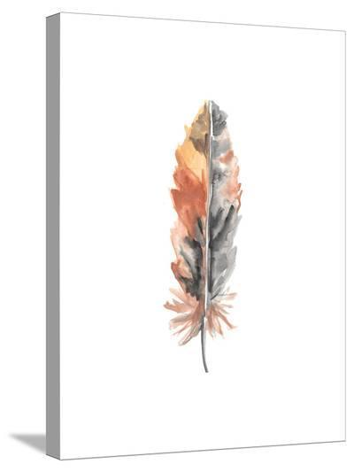 Feather 4-Jetty Printables-Stretched Canvas Print
