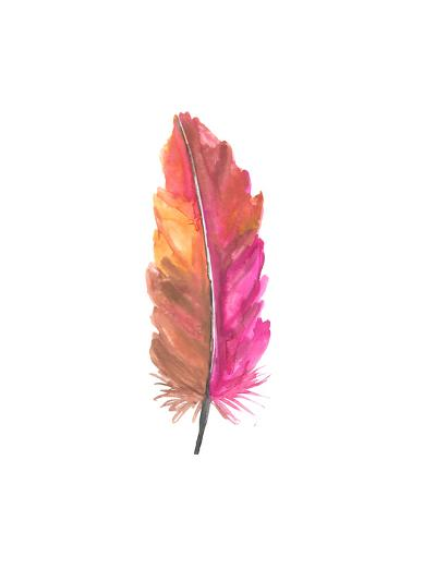 Feather 5-Jetty Printables-Art Print