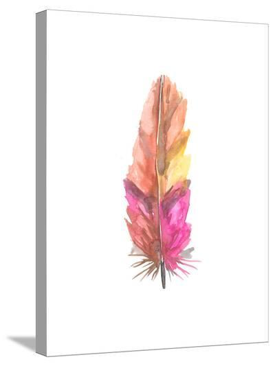 Feather 6-Jetty Printables-Stretched Canvas Print