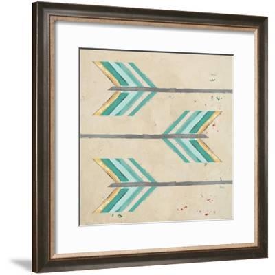 Feather Arrows-Patricia Pinto-Framed Art Print
