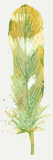 Feather Bright 1-Kimberly Allen-Art Print