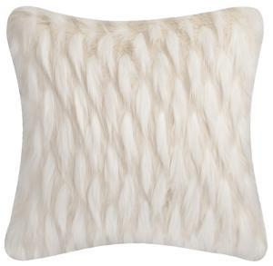 Feather-Luxe Pillow - Snowy Owl