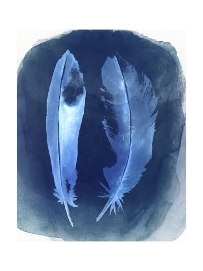 Feather Negatives I-Grace Popp-Art Print