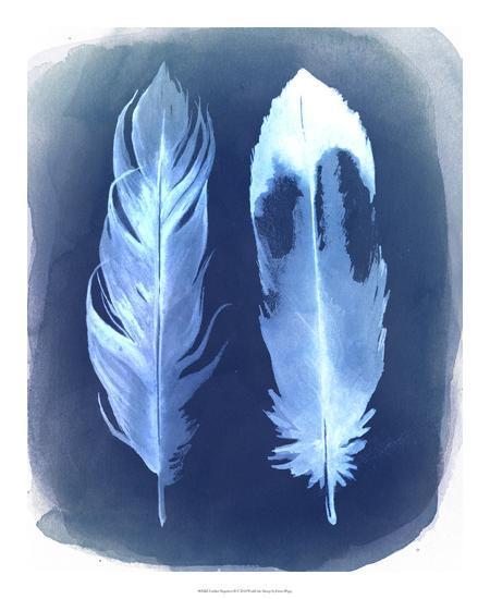 Feather Negatives II-Grace Popp-Giclee Print