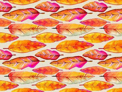 Feather Pattern 2-Lebens Art-Art Print