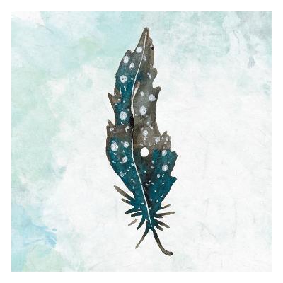 Feathered Blues 1-Kimberly Allen-Art Print