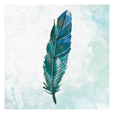 Feathered Blues 2-Kimberly Allen-Art Print