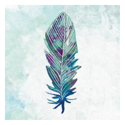 Feathered Blues 3-Kimberly Allen-Art Print