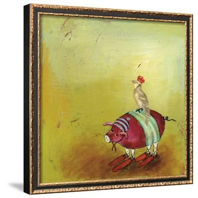 Feathers and Fur 7-Stacy Dynan-Framed Giclee Print