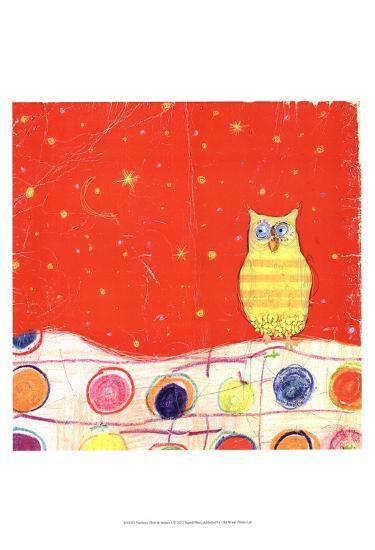 Feathers, Dots & Stripes I-Ingrid Blixt-Art Print