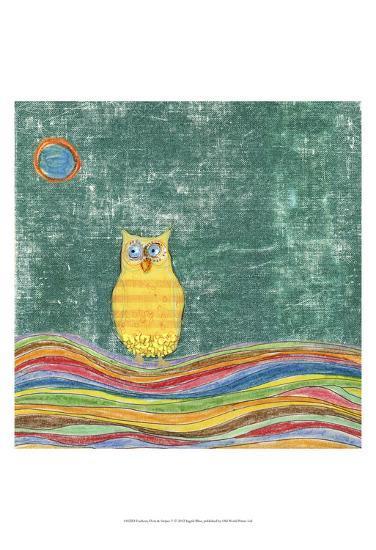 Feathers, Dots & Stripes V-Ingrid Blixt-Art Print