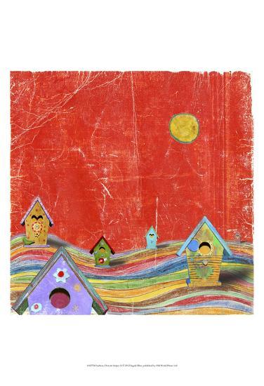 Feathers, Dots & Stripes X-Ingrid Blixt-Art Print