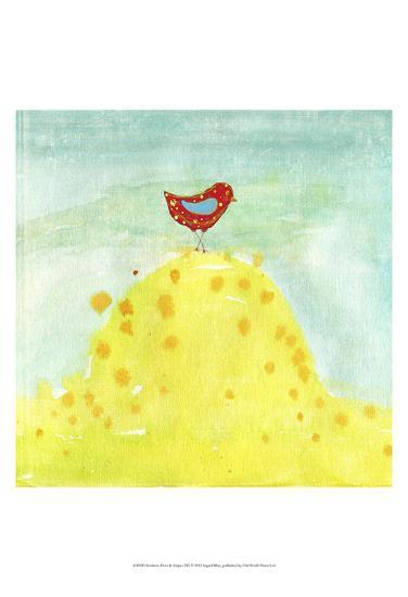 Feathers, Dots & Stripes XII-Ingrid Blixt-Art Print