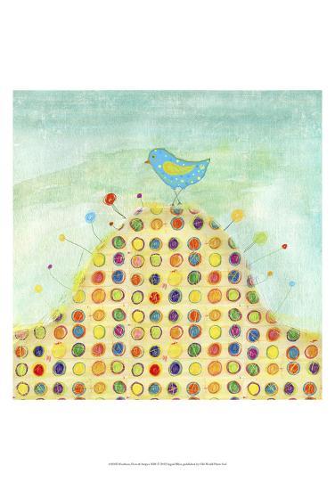 Feathers, Dots & Stripes XIII-Ingrid Blixt-Art Print