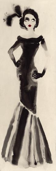Feathers in her Hair-Bridget Davies-Art Print