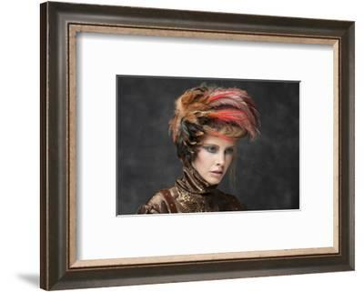 Feathers-Bartjan Nieuwerf-Framed Photographic Print