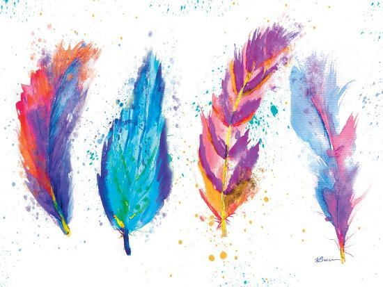 Feathers-Victoria Brown-Art Print